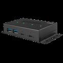 Hub Métal LINDY USB-C 4 ports